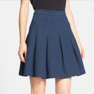 Diane von Furstenberg Dark Blue Gemma Knee-length